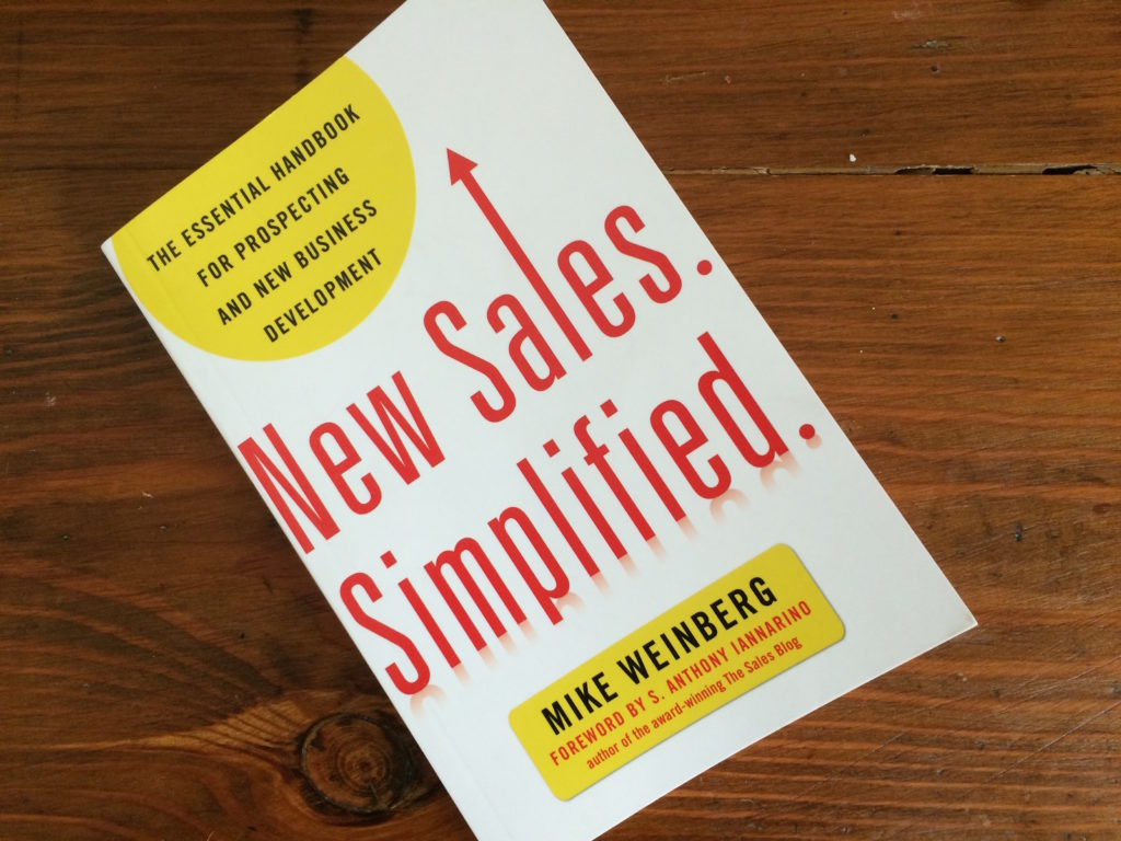 new sales simplified book review